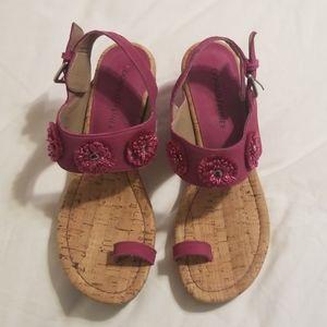 Donald j Pliner gilly floral sandals